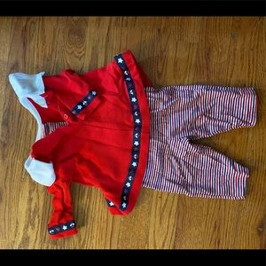 Other - red, white, and blue baby outfit